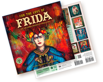 For the Love of Frida Calendar 2016